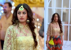 Ishqbaaz Anika Outfit Fashion Trends to Follow, Anika ishqbaaz lehenga design trends, lehengas in ishqbaaz serial, lehenga choli style from ishqbaaz, surbhi chandna outfits