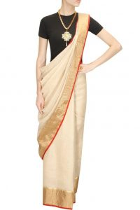 Designer Cotton Sarees & Linen Sarees in fashion