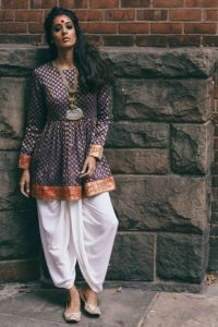Indo western for Navratri, navratri outfit ideas, indo fusion fashion for navratri, how to style for navratri, navratri outfits 2017, dhoti kurta for navratri, dhoti outfit for navratri