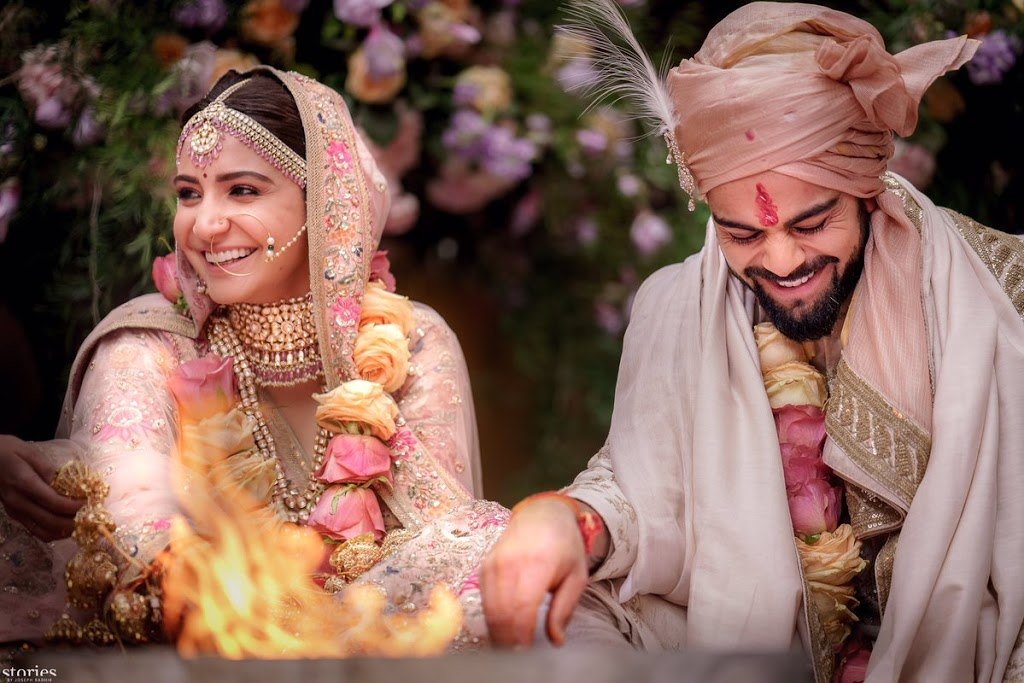 Anushka Sharma and Virat Kohli Wedding Wear – Bollywood Wedding