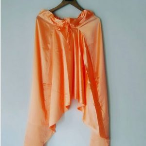 Peach Satin Dhoti Pants