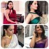 shagun blouse designs, top shagun blouse patterns, anita hassanandani saree blouses, shagun saree blouses,