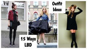 15 Trendy Ways to Style LBD – How to Wear Little Black Dress