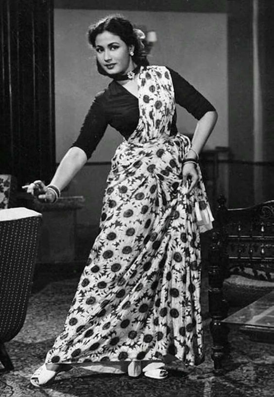 retro-saree