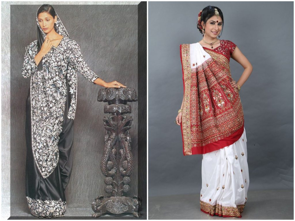 parsi and gujarati sarees