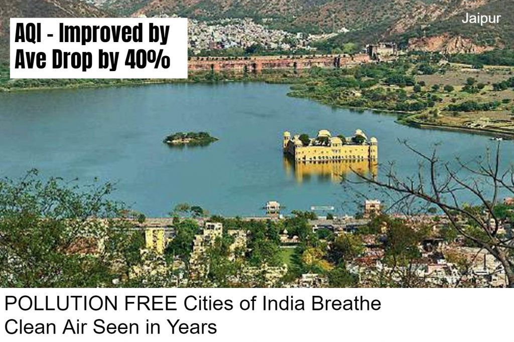 lockdown improves air pollution in india