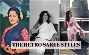 Read more about the article Types of Retro Saree Style that Trend – Peshwas, Mumtaz, Traditional Styles