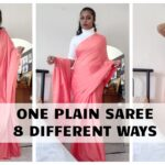 Saree wearing styles – 1 Saree in 10 Ways for Wedding Party